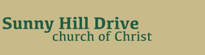 Sunny Hill Drive Church of Christ